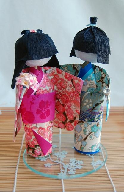Washi ningyo doll