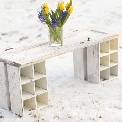 Free Furniture! How to Make a Coffee Table out of an old Door