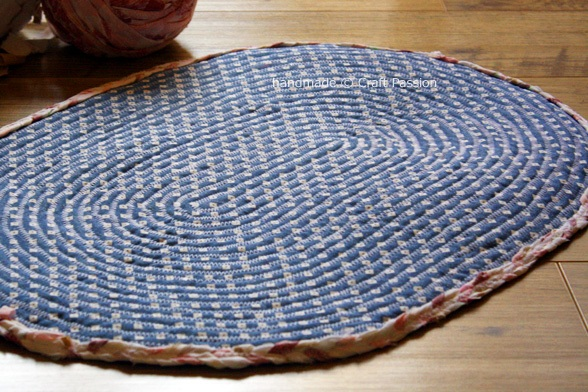 Sew Braided Rag Rug