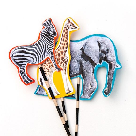 DIY Safari Puppet Parade