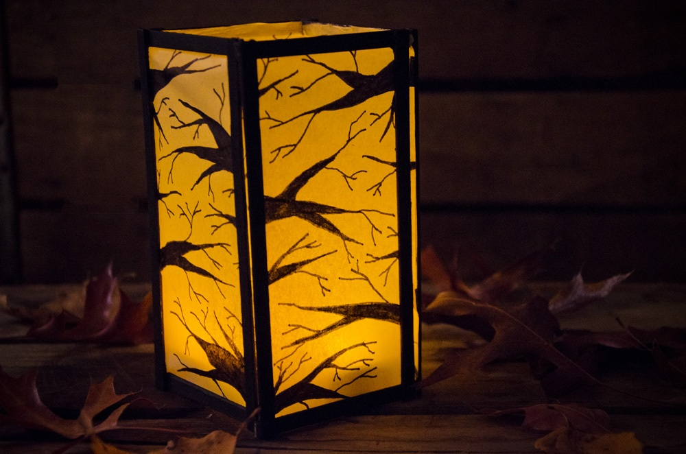 In the Woods Paper Lantern