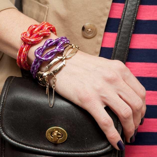 DIY Knotted Rope Bracelet