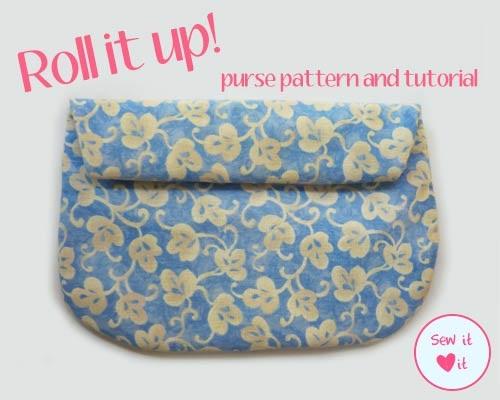 Roll It Up Purse Tutorial