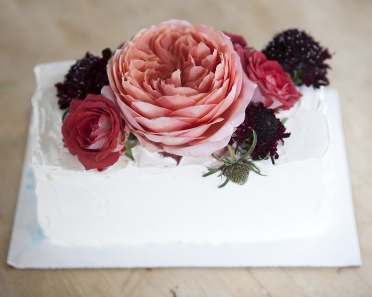 How to Make a Floral Wedding Cake Topper