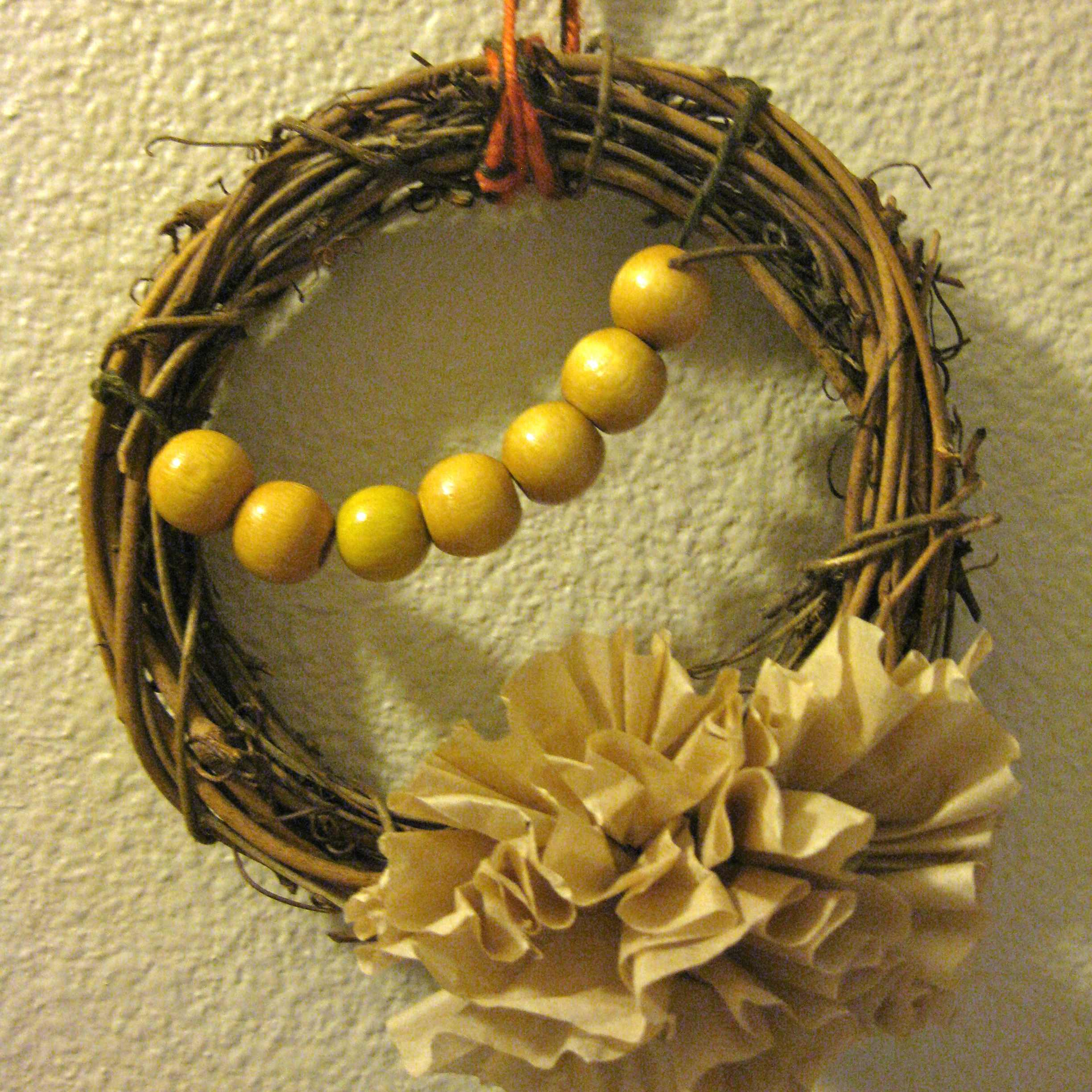 5 minute diy fall wreath and a shop giveaway