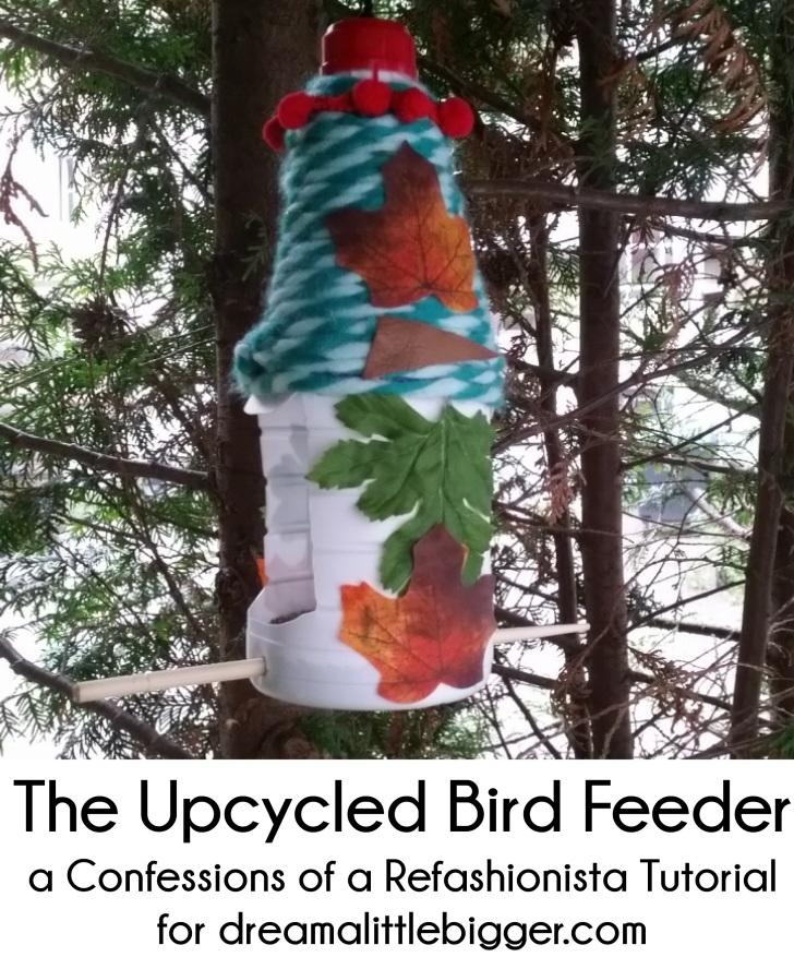 The Upcycled DIY Bird Feeder
