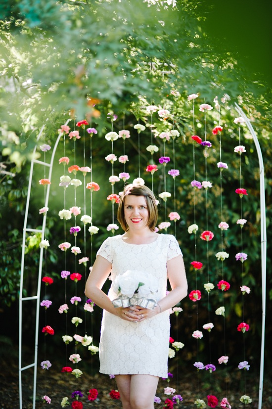 How To Carnation Backdrop