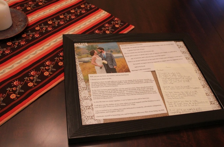 Wedding Keepsake DIY Project