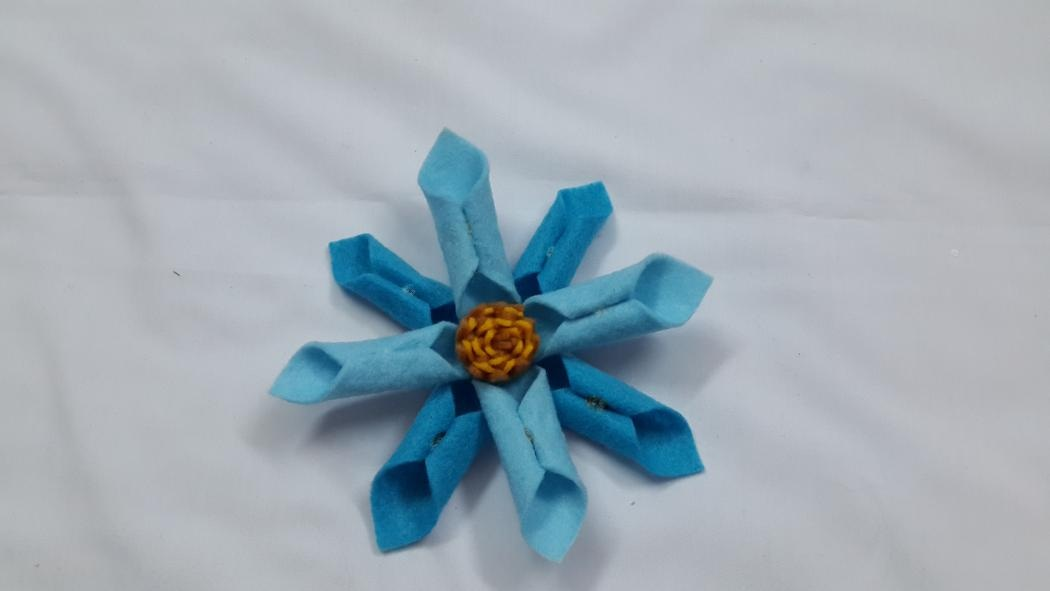 DIY Felt Fabric Flower