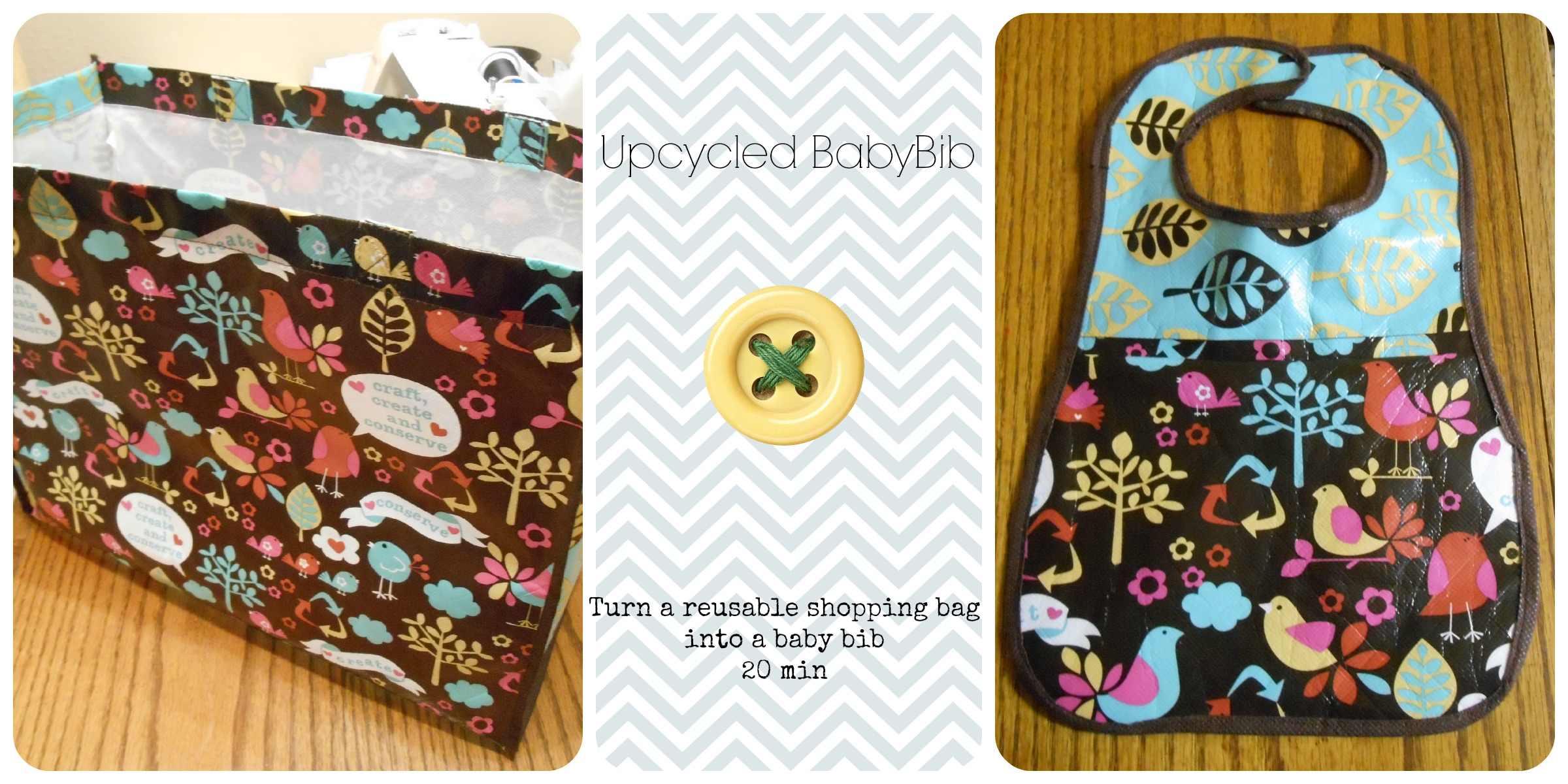 Upcycle Baby Bib DIY