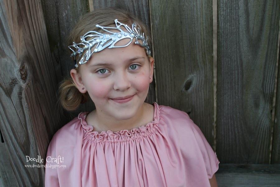 DIY Downton Abbey Inspired Wedding Tiara!