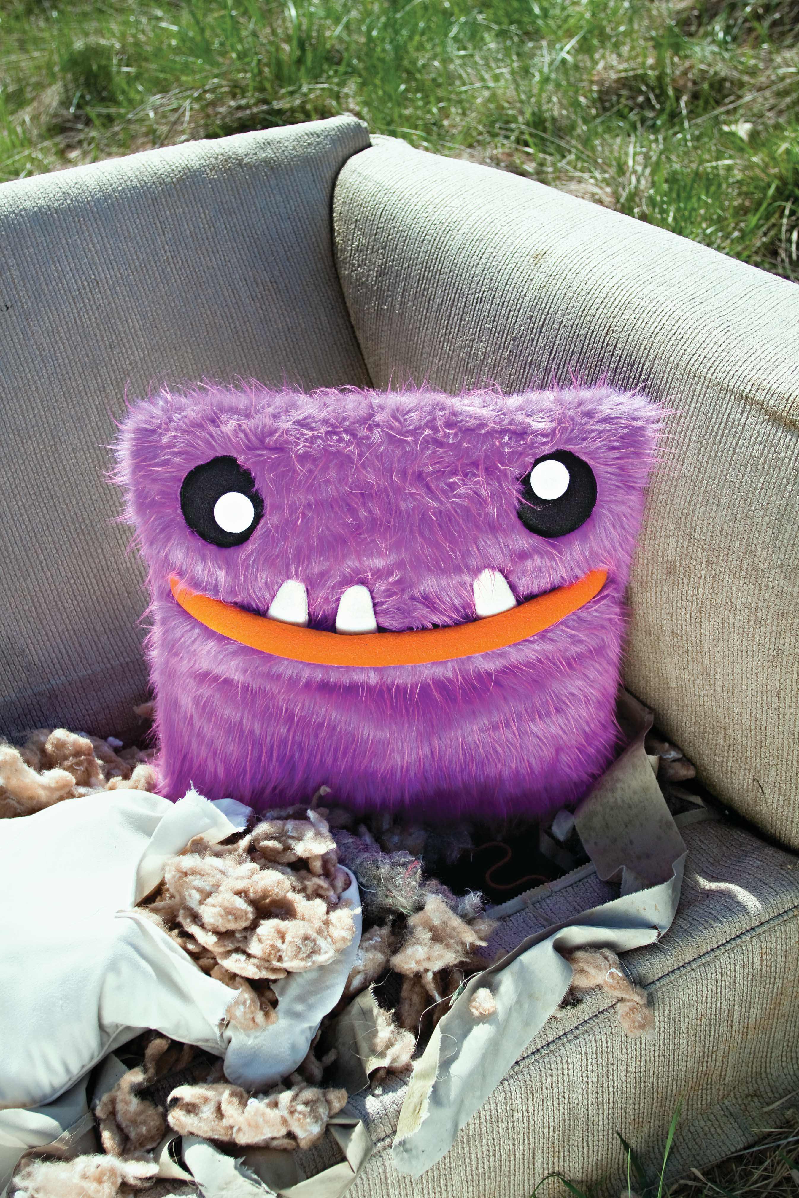 Pillow Sewing Project Monster Devourer
