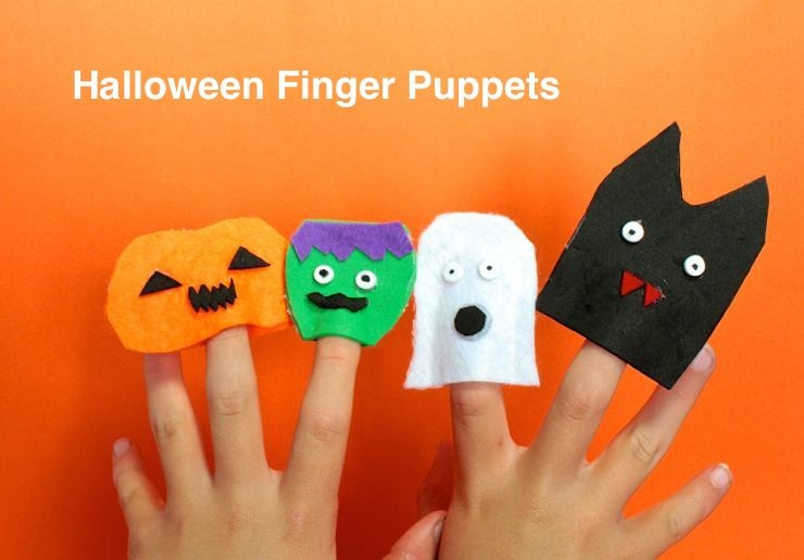 Room to Grow Halloween Finger Puppets