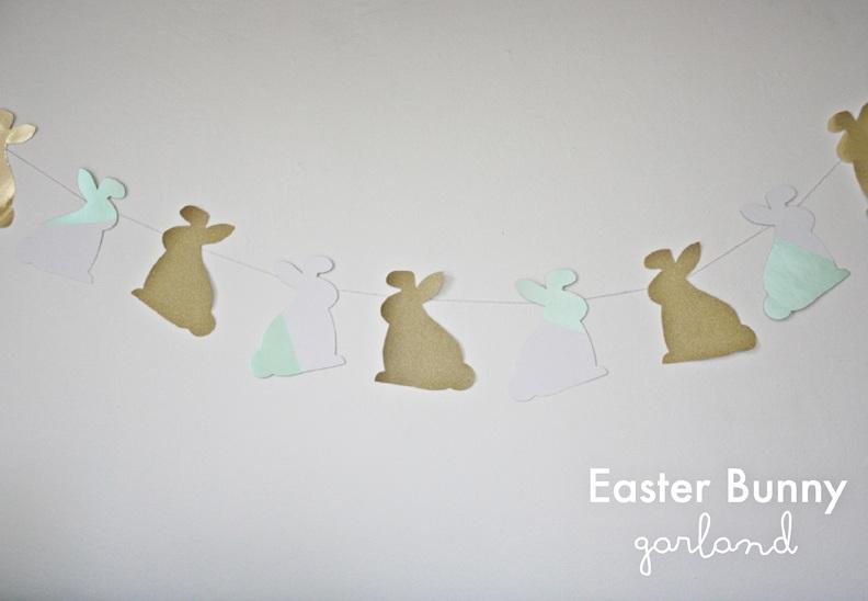 Easter Bunny Garland