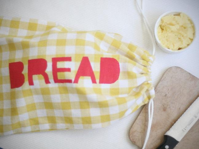 DIY Cloth Bread Bag