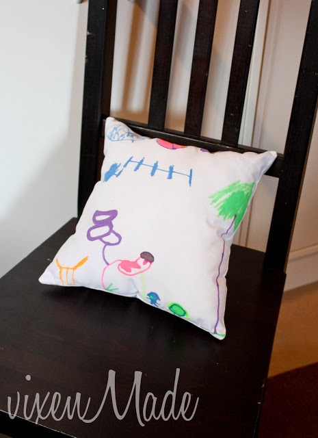 Kids Personalized Pillow Tutorial