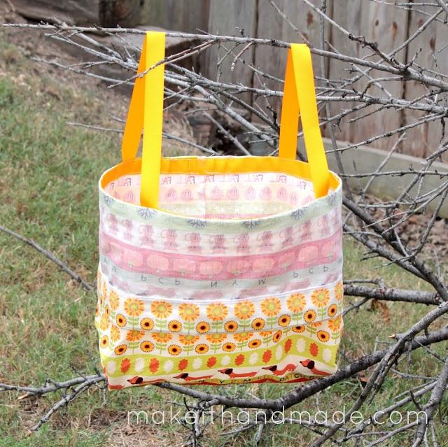 DIY 2 in 1 Halloween Trick or Treat Bag