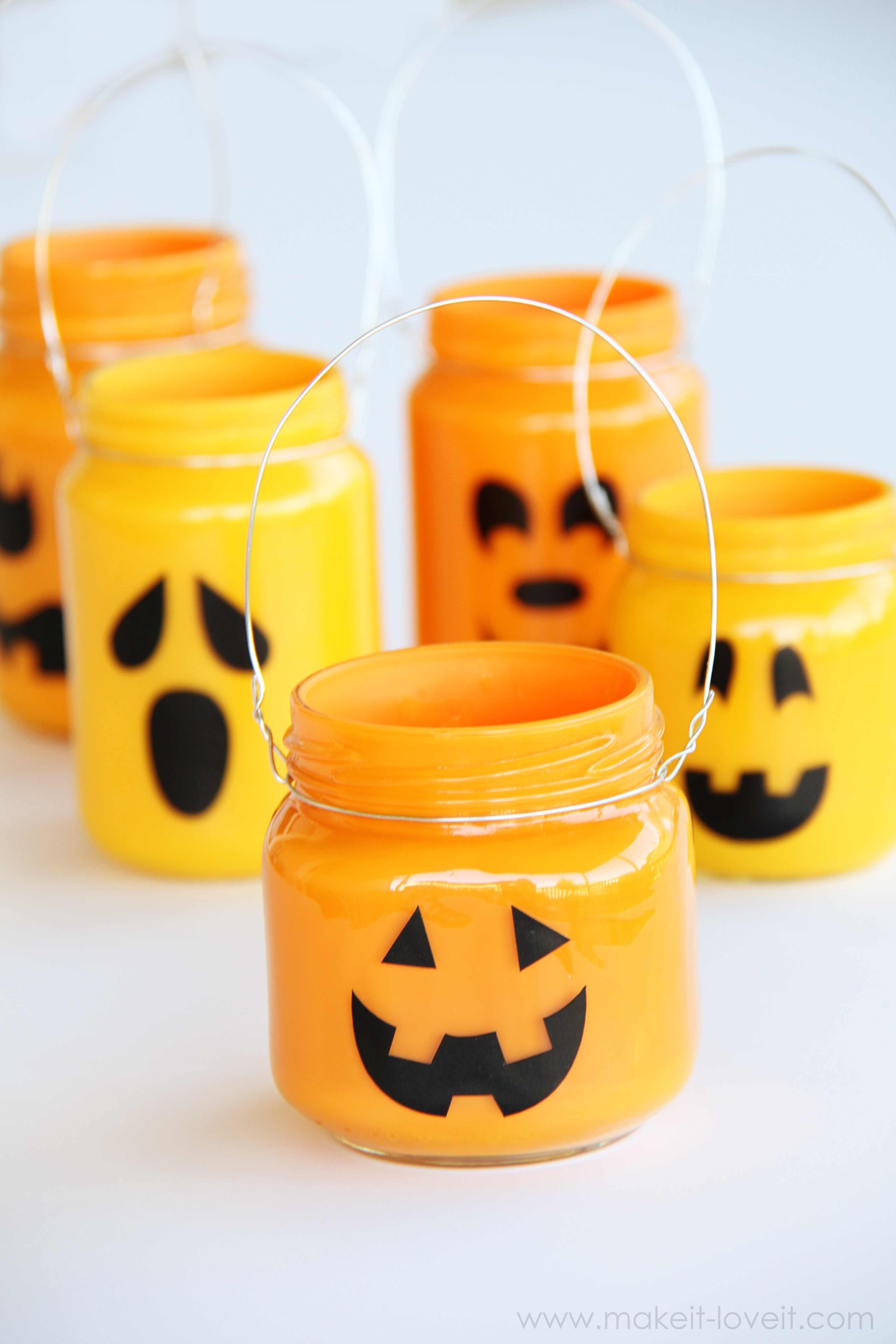 Pumpkin Jars Add treats, candles, or nothing at all... Make It and Love It