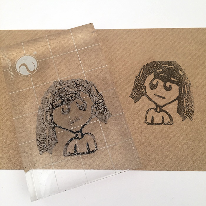 DIY Stamps From Children's Drawings