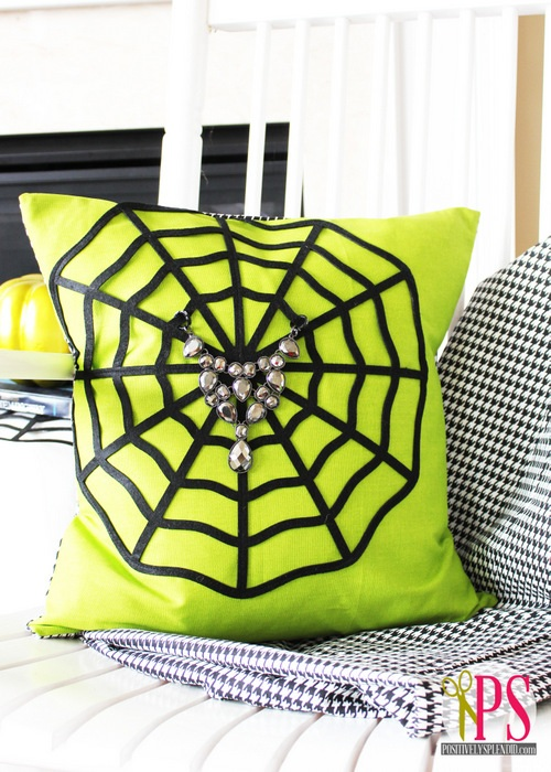 Spiderweb Pillow Tutorial Positively Splendid {Crafts, Sewing, Recipes and Home Decor}