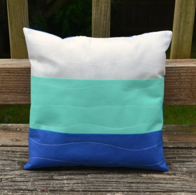 Beachy Outdoor Pillow with Oly*Fun