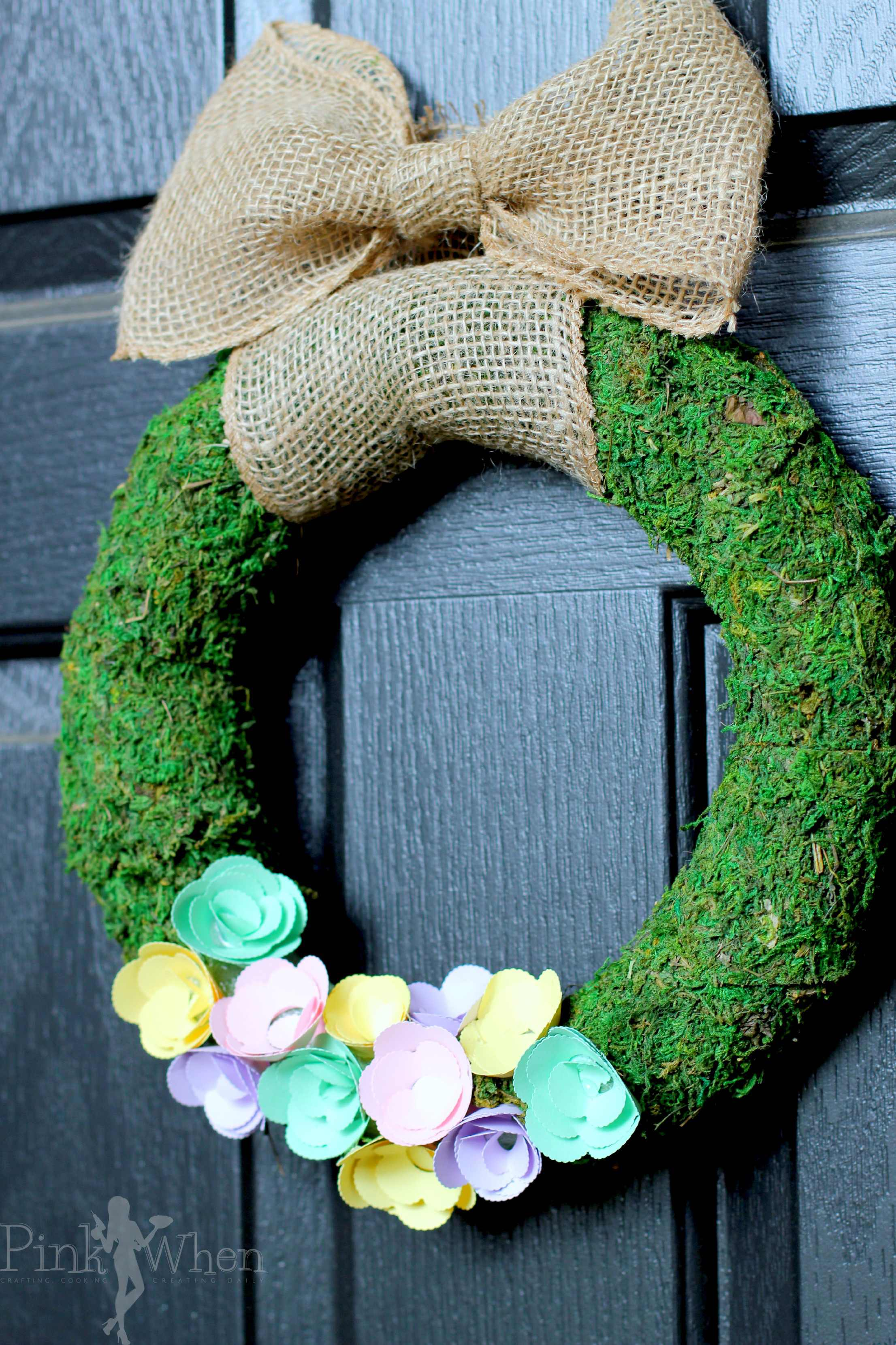 2212 x 3318 jpeg 649kB, Spring Paper Flower Wreath Page 2 of 2 ...