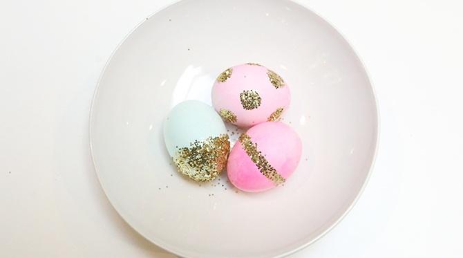 Glitter Easter Egg DIY
