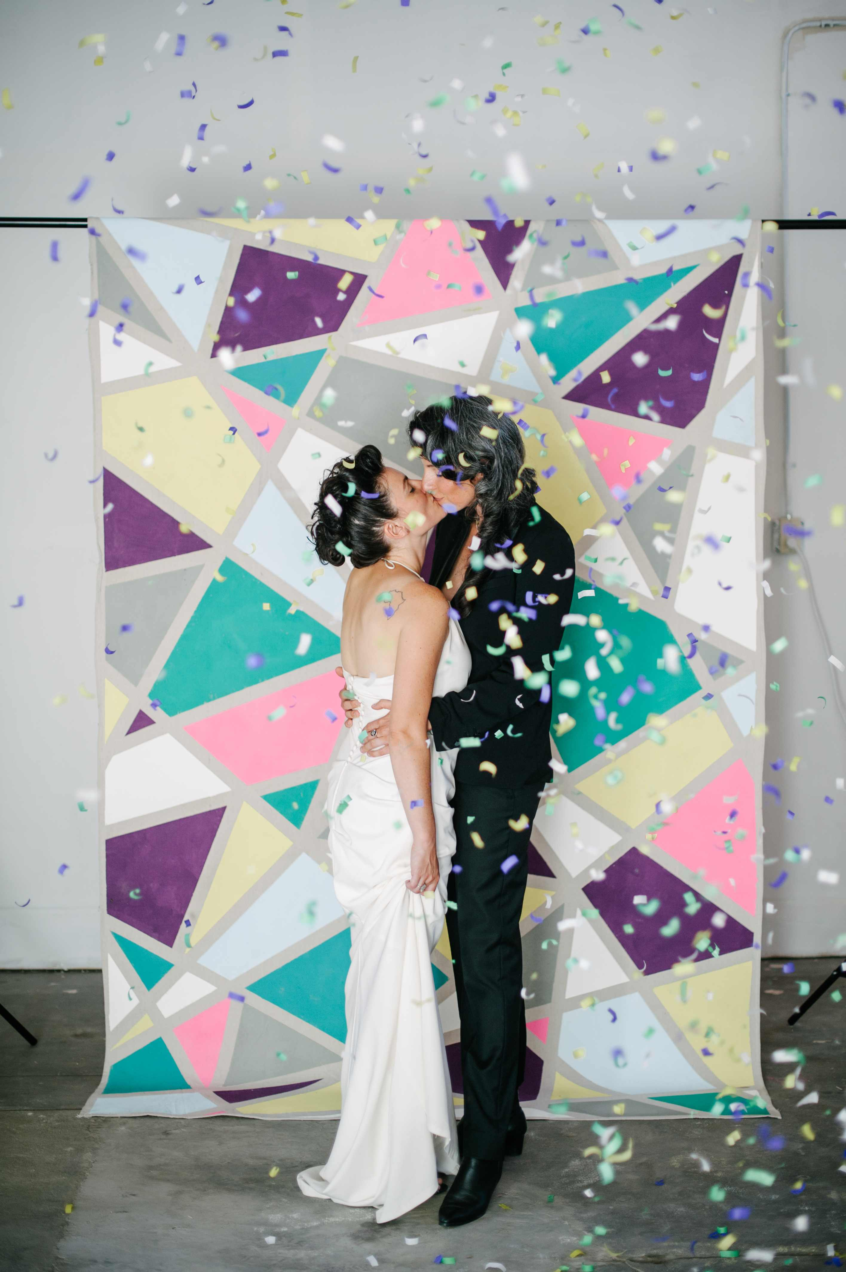 How To No Sew Wedding Backdrop