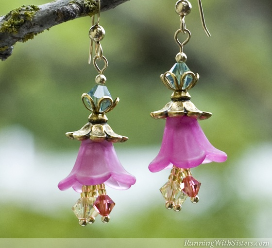 Blooming Garden Flower Earrings