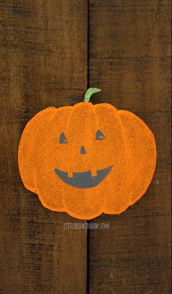 Happy Halloween Pumpkin Coasters