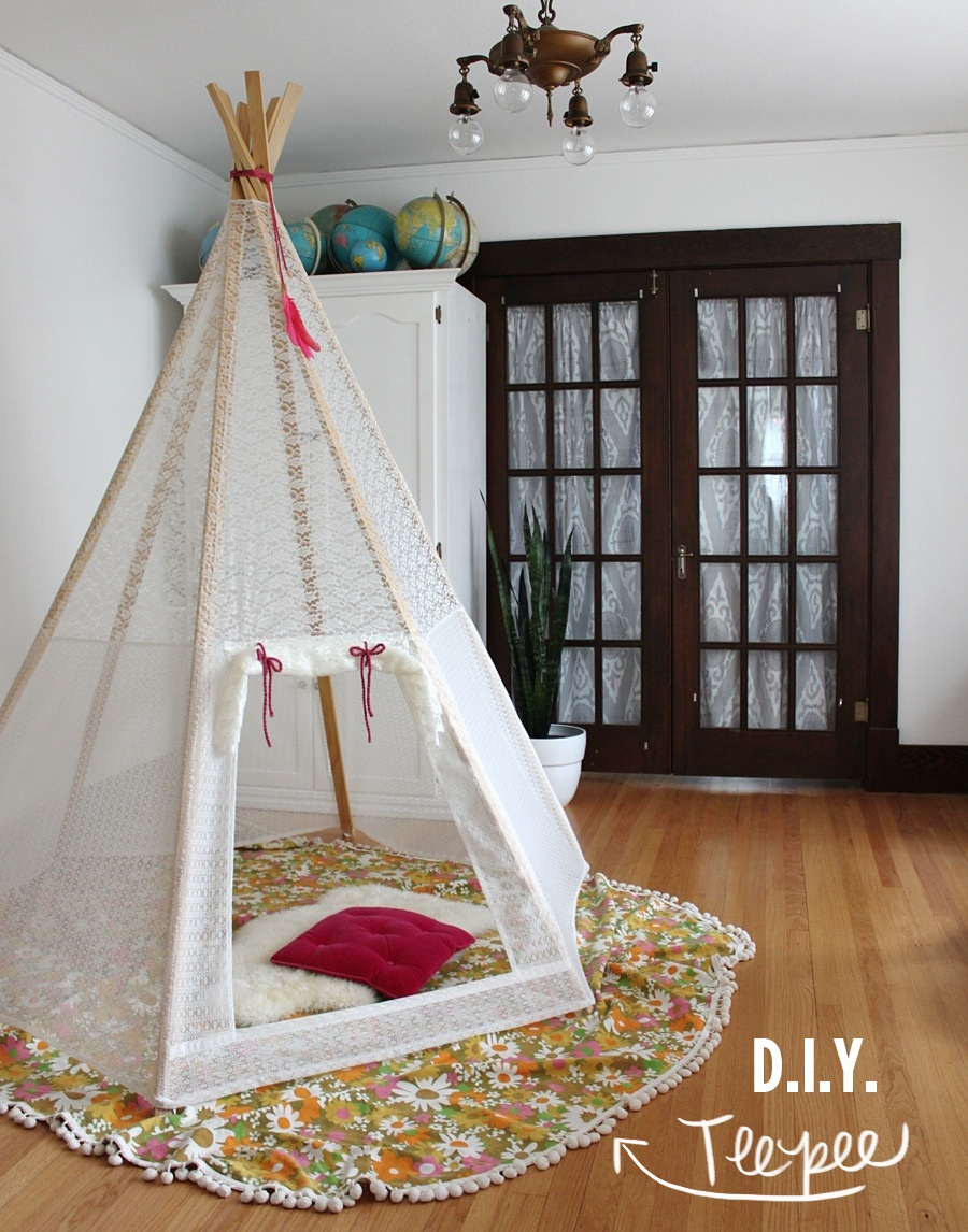 Make Your Own Play Teepee