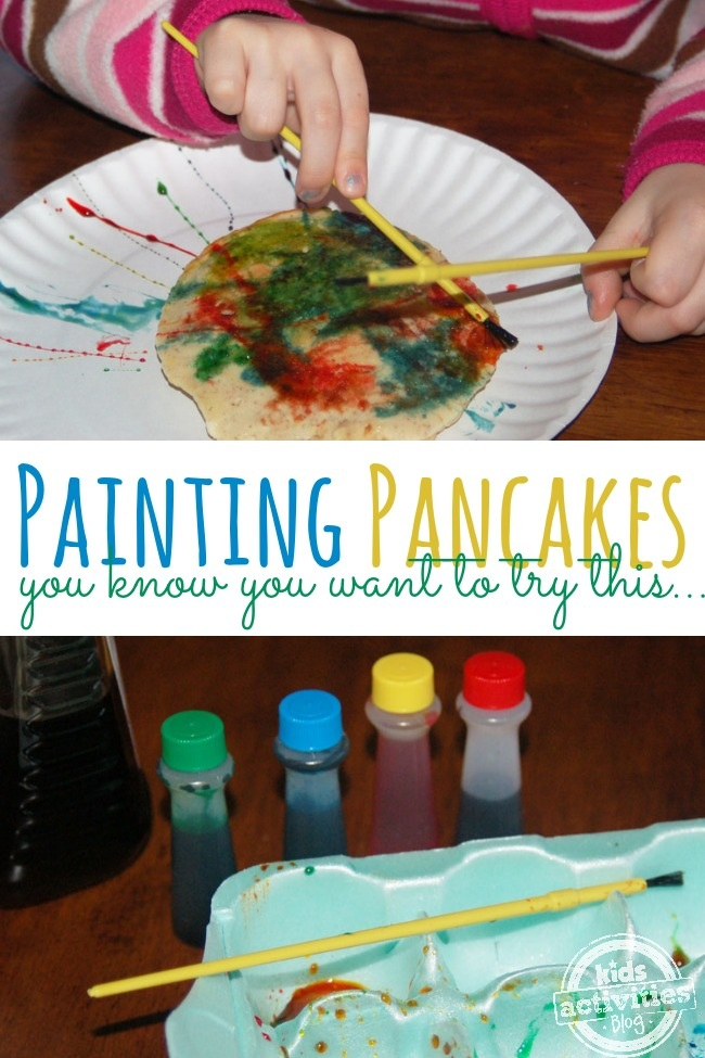 Painting Pancakes Modern Art You Can Eat