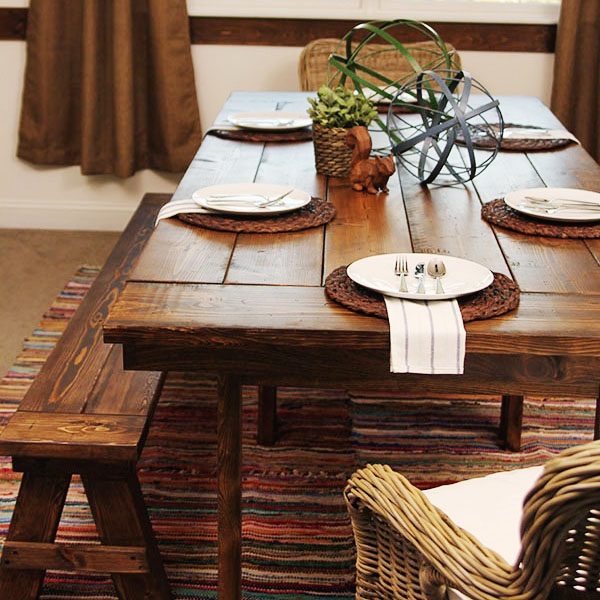 IKEA Hack Build a Farmhouse Table the Easy Way