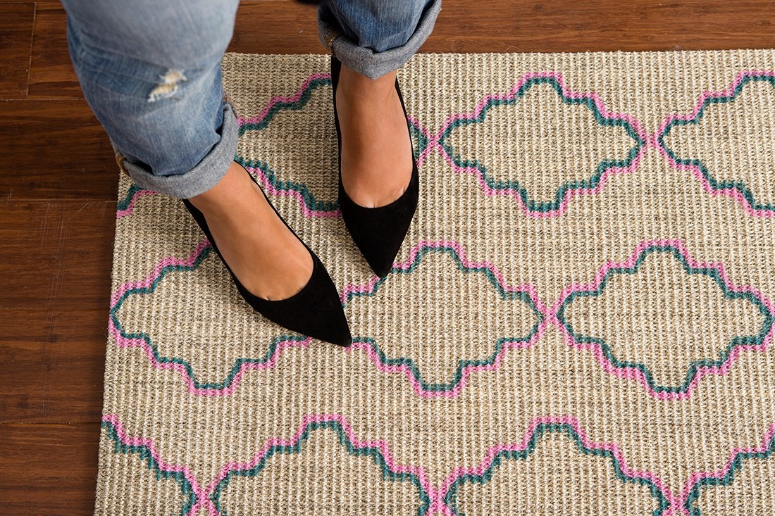 Paint Your Own Patterned Rug on the Cheap