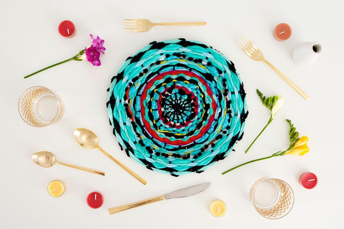 Get Your Weave On With This DIY Placemat