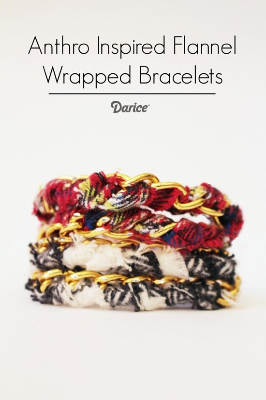 DIY Wrap Bracelet Tutorial Anthro Inspired