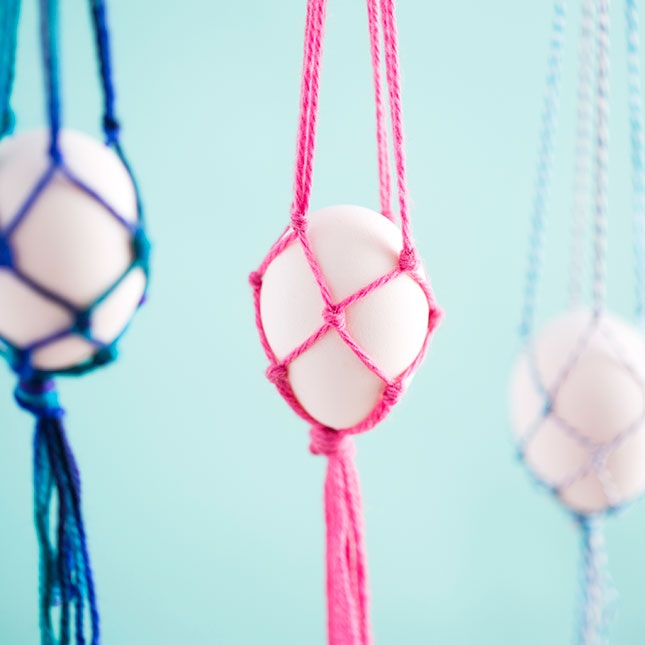 Macra Make These Hanging Easter Egg Baskets in Just 10 Minutes