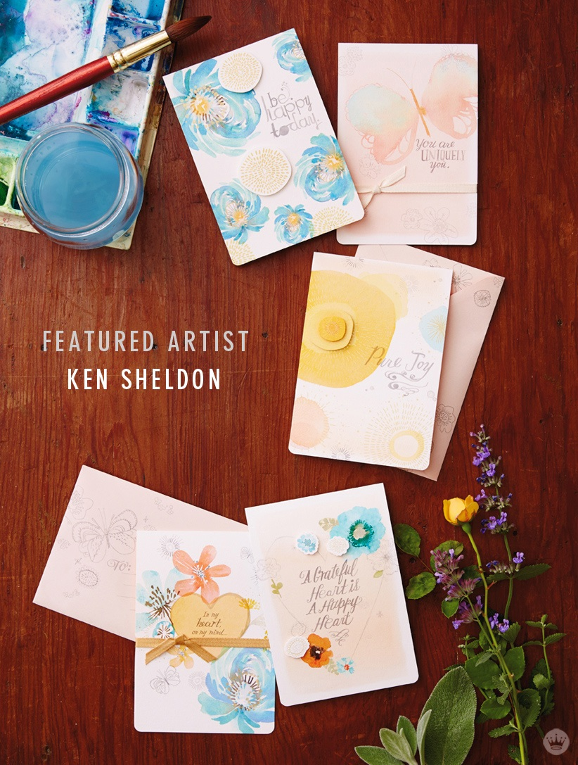 Hallmark illustrator Ken Sheldon puts his love to paper Think.Make.Share.