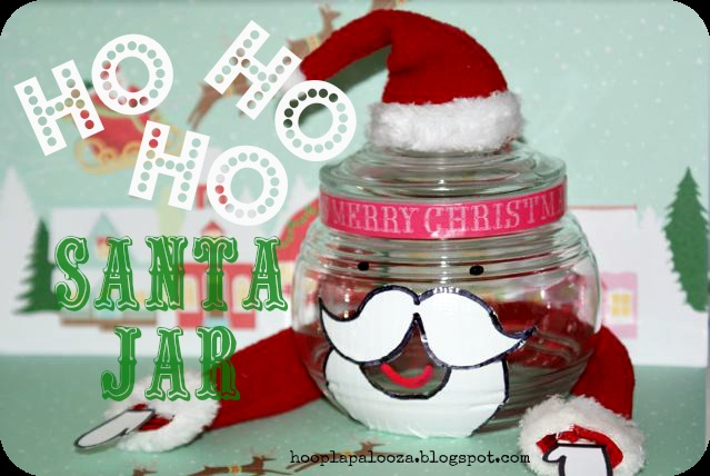Christmas in a jar part 3, 4 AND 5 (santa, elf and tree)