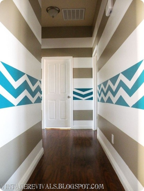 Hailee's Hallway with the ScotchBlue Painting Party!
