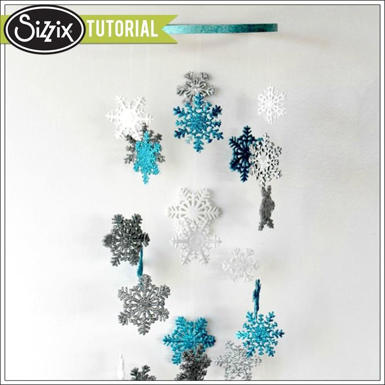 Snowflake chandelier by monika baptista craftsmile snowflake chandelier by monika baptista mozeypictures Choice Image