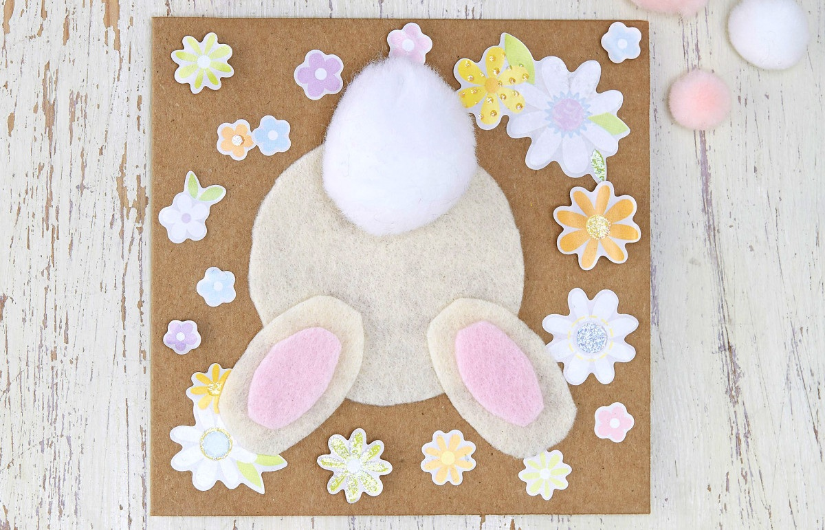 How to Make an Easter Bunny Card