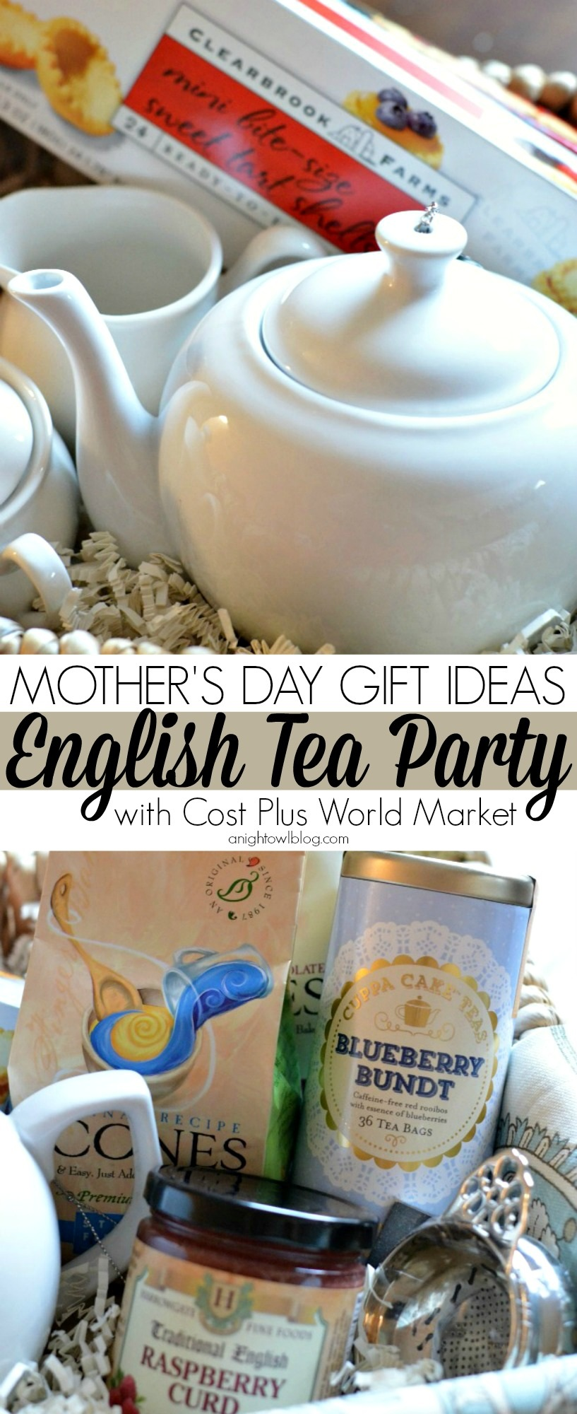 English Tea Party Gift Basket