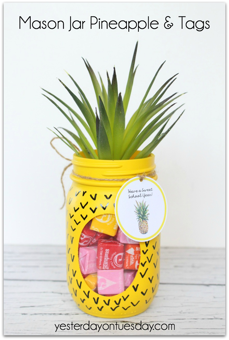 Mason Jar Pineapple