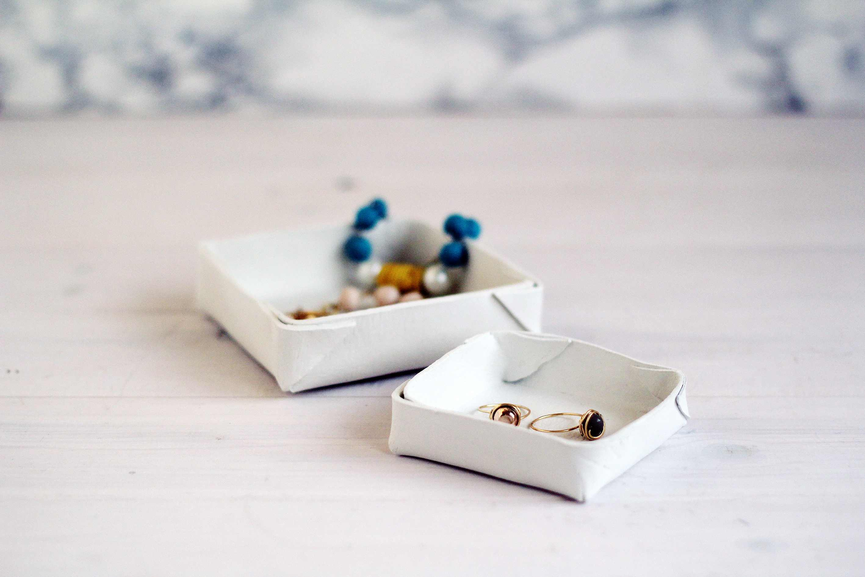 Folded Clay Jewelry Dish