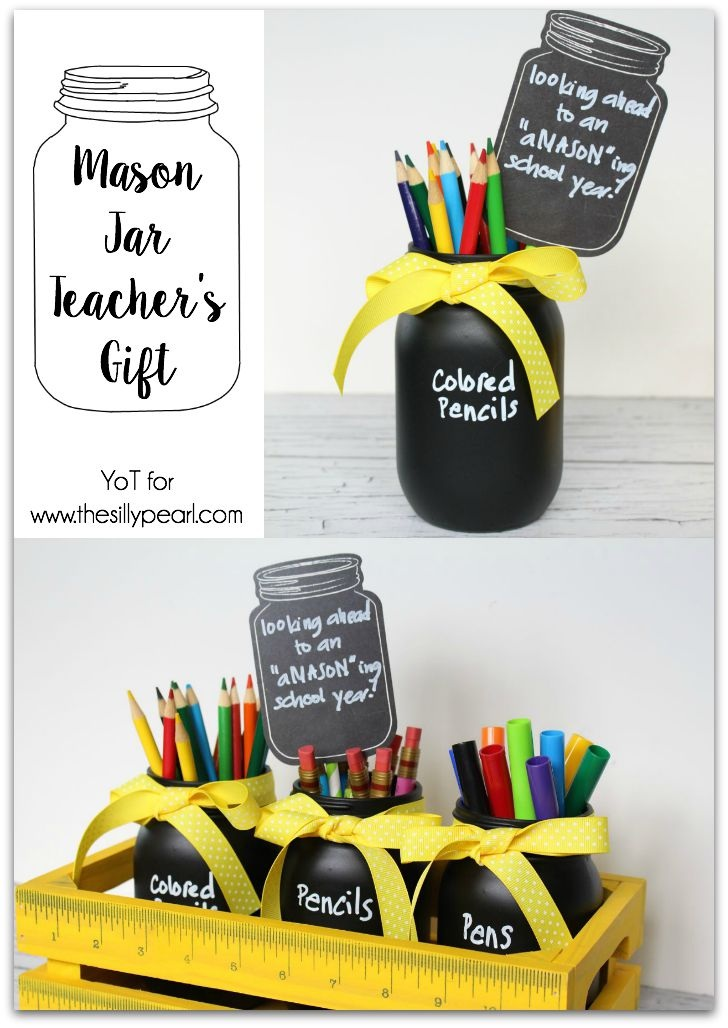 Mason Jar Teacher's Gift by Yesterday on Tuesday