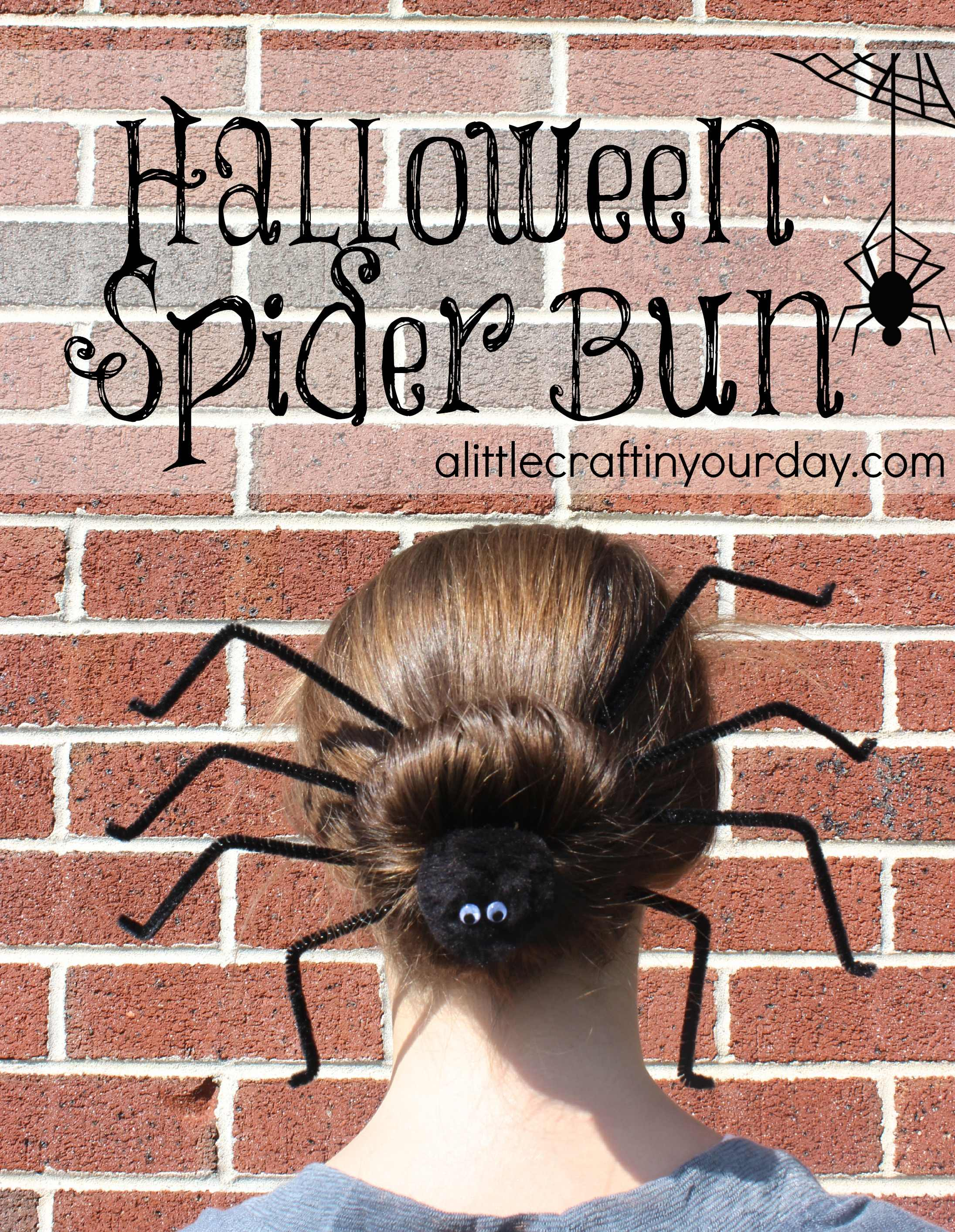 Spider Bun Tutorial