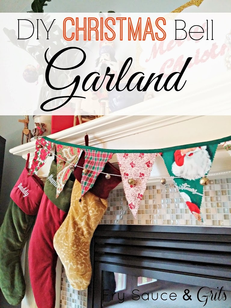 DIY Bakers Twine and Bell Garland