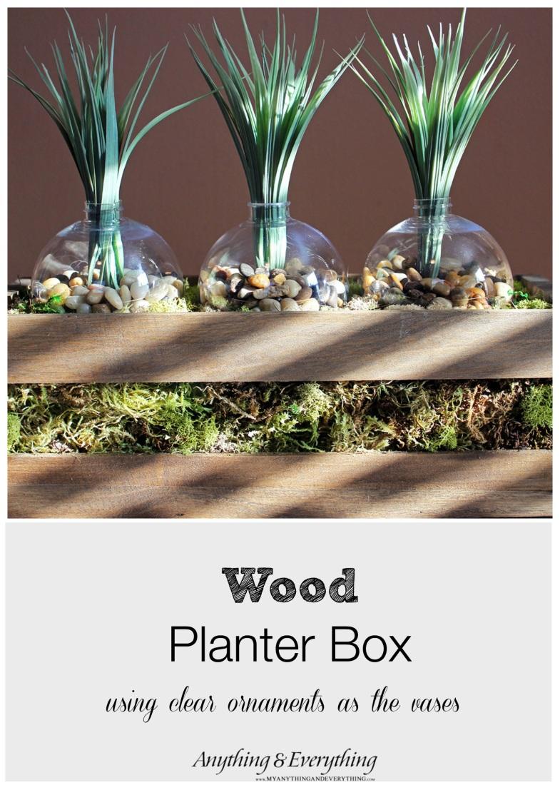 Wood Planter Box Monthly DIY Challenge Anything & EverythingAnything & Everything