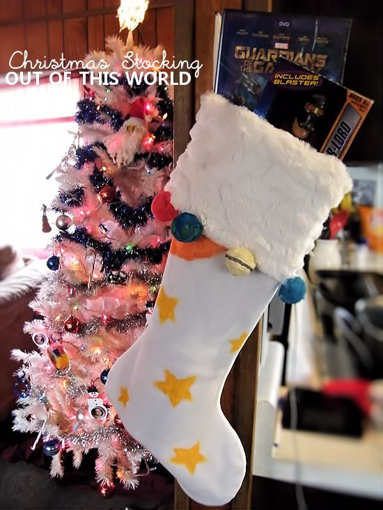 Guardians of the Galaxy Out of this World Stocking